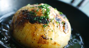 Stuffed Sweet Onion Potato Gratin