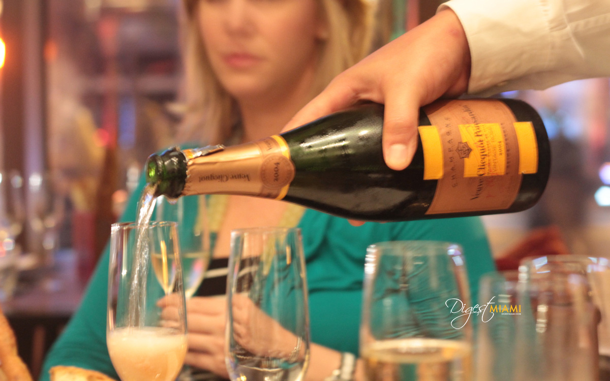 The Setai Veuve Clicquot Dinner